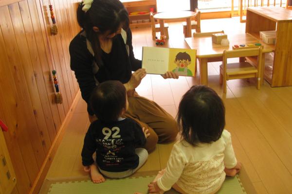 乳児保育 0~2歳児(育児担当保育)