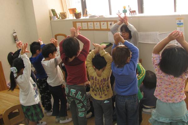 幼児保育 3~5歳児(異年齢保育)
